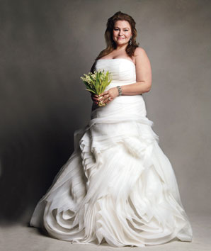 Very Vera Plus Size Wedding Gowns at David\'s Bridal - Curvy Style