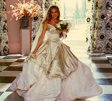 Carrie Bradshaw Bride
