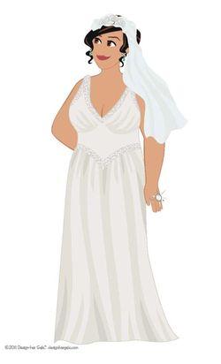 Curvy Bride 1